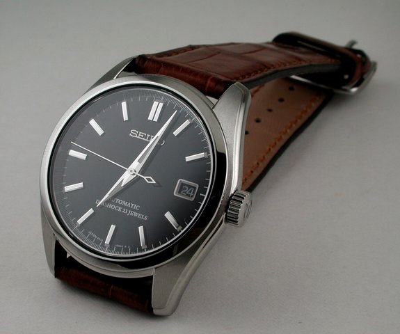 adc88bc86 Seiko 5's with leather straps or alternatives | Styleforum