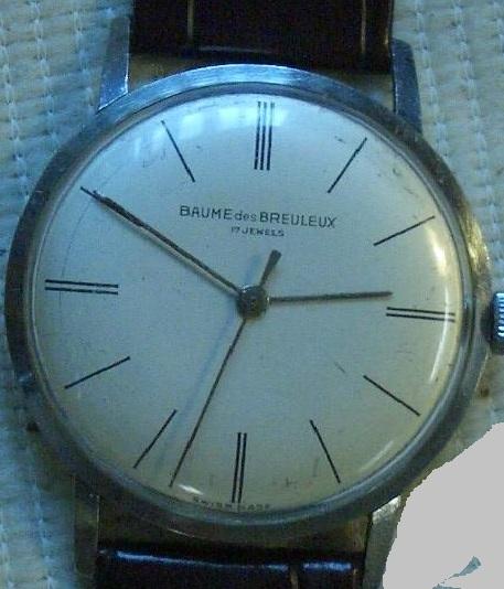 ca baume des breuleux � 17 jewels vintage hodinky