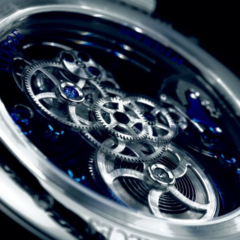 Royal Blue Tourbillon movement