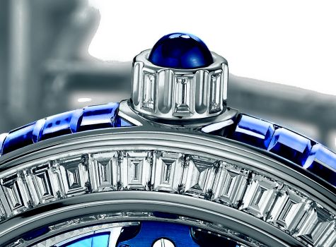 Royal Blue Tourbillon