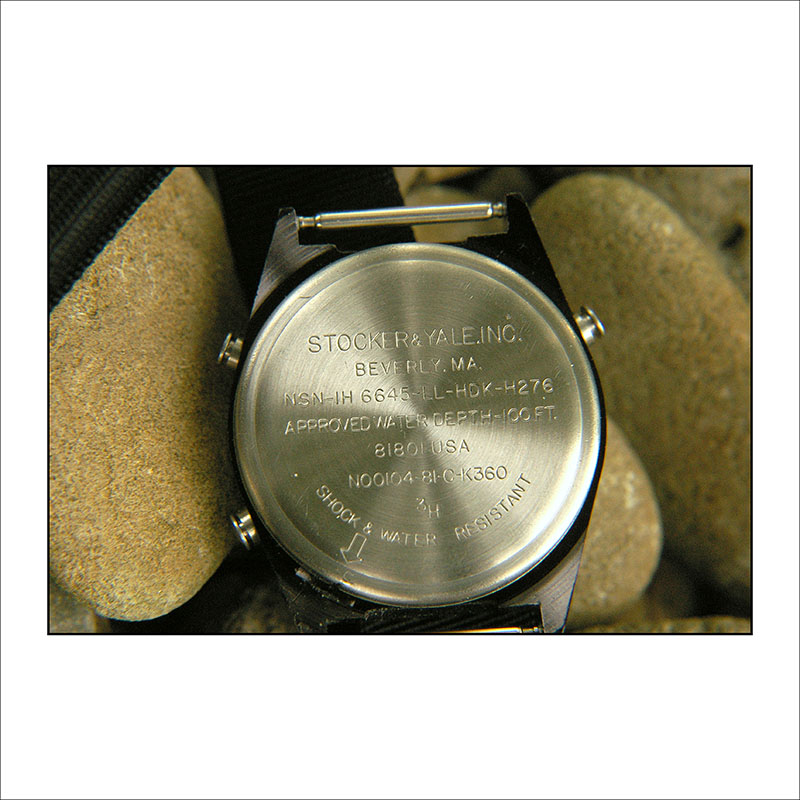 Stocker and Yale General Purpose Watch Model SANDY 590Flag